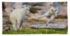 The Dance Of Joy Hand Towel by Jim Garrison