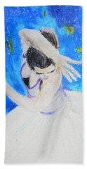 The Dancer Hand Towel