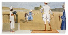 The Dandy Tourist, From The Light Side Hand Towel