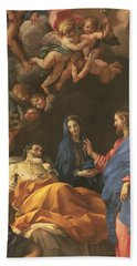 The Death Of Saint Joseph Bath Towel