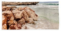 Hand Towel featuring the photograph The Dragon Of Labadee by Mitchell R Grosky