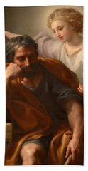 The Dream Of St Joseph Bath Towel