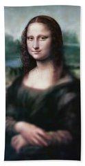 The Dream Of The Mona Lisa Bath Towel