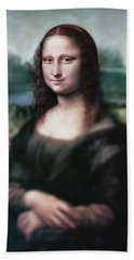 The Dream Of The Mona Lisa Hand Towel