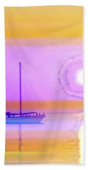 Hand Towel featuring the photograph The Drifters Dream by Holly Kempe