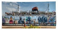 The Duke Of Graffiti Hand Towel by Adrian Evans