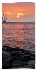 The Edith Becker Sunset Cruise Bath Towel