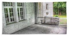 The Empty Porch Swing Bath Towel