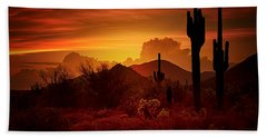 The Essence Of The Southwest Hand Towel