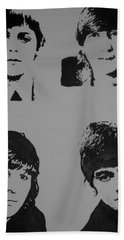 The Fab Four Bath Towel