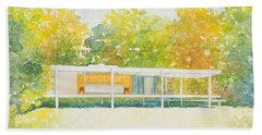 The Farnsworth House Bath Towel
