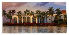 The Flagler Museum Hand Towel
