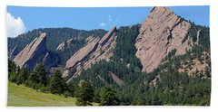 The Flatirons Hand Towel
