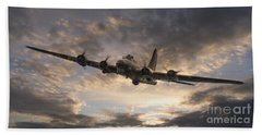 The Flying Fortress Bath Towel