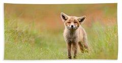 The Funny Fox Kit Bath Towel
