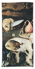 The Garden Of Earthly Delights Hell, Right Wing Of Triptych, C.1500 Oil On Panel See 322, 3425 Hand Towel