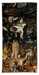 The Garden Of Earthly Delights. Right Panel Bath Towel