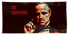 The Godfather Bath Towel