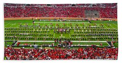 Bath Towel featuring the photograph The Going Band From Raiderland by Mae Wertz