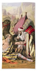 The Good Samaritan, From A Bible Hand Towel