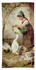 The Goose Girl Hand Towel