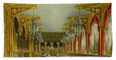 The Gothic Dining Room At Carlton House Hand Towel