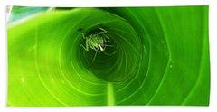 The Grasshopper Flush Hand Towel