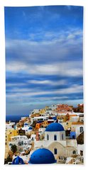 The Greek Isles-oia Bath Towel