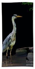 The Grey Heron Bath Towel