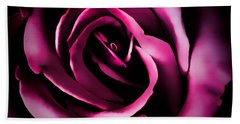 The Heart Of A Rose Hand Towel