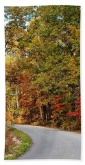 The High Road Hand Towel by Deena Stoddard