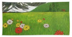 The Hills Are Alive With The Sound Of Music Bath Towel
