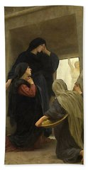 The Holy Women At The Tomb Hand Towel by William Bouguereau