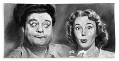 The Honeymooners Bath Towel