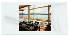 The House Of Mr. And Mrs. Alfred Rose On Lake Bath Towel