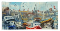 The Howth Harbour Bath Towel