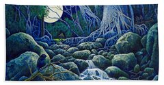 The Hunt For The Wolfman Bath Towel