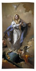 The Immaculate Conception Hand Towel