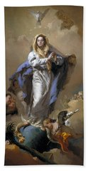 The Immaculate Conception Bath Towel by Giovanni Battista Tiepolo