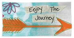 The Journey Hand Towel