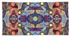 The Joy Of Design Mandala Series Puzzle 1 Arrangement 1 Bath Towel