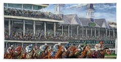 The Kentucky Derby - Churchill Downs Bath Towel