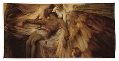 The Lament For Icarus Bath Towel