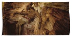 The Lament For Icarus Hand Towel by Herbert James Draper