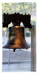 The Liberty Bell, Philadelphia Bath Towel