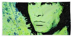The Lizard King Bath Towel