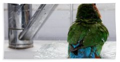 The Lovebird's Shower Bath Towel