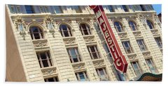 Hand Towel featuring the photograph The Majestic Theater Dallas #1 by Robert ONeil