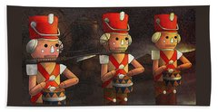 The March Of The Wooden Soldiers Bath Towel