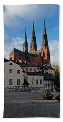 The Medieval Uppsala Hand Towel by Torbjorn Swenelius